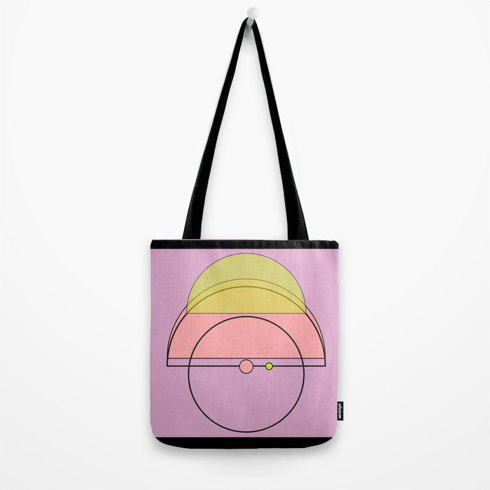Purple, pink, and yellow jewel tone totebag by macro.baby